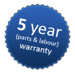 TLR Plumbing and Heating - 5 year warranty on new boiler installations